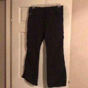 Sanibel black scrub pants size medium